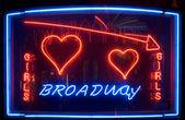 Neon Sign — Stock Photo