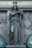 Figure on the Monument of Maximilian Joseph — Stock Photo