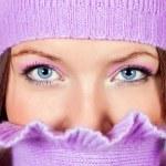 Beautiful blue eyes — Stock Photo
