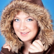 Girl in jacket — Stock Photo #3934512