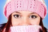 Hermosos ojos marrones — Foto de Stock