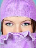 Niebieskie oczy — Zdjęcie stockowe