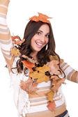 Autumn fun — Stock Photo