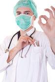 Korrupt läkare - konceptet — Stockfoto