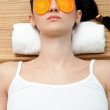 Spa treatment on face — Stock Photo #5203525