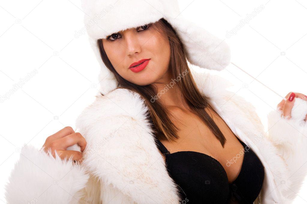 from Kendrick seductive girl in fur