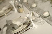 Place setting — Stock Photo