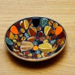 Stock Photo: Handcrafted Decorative Plate