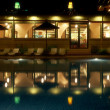 Swimming Pool at Night - Photo