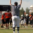 American football referee — Stock Photo