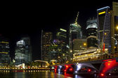 Singapore Cityscape from the Esplanade — Stock Photo