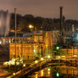 Stock Photo: Oregon City Electricity Power Plant at Night