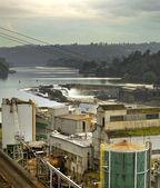 Willamette valt dam in oregon city — Stockfoto