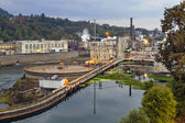 Oregon City Electricity Power Plant — Stock Photo