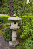 Stone Lantern at Japanese Garden 3 — Stock Photo