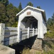 Stock Photo: HoffmCovered Bridge 2
