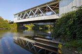 Gilkey Covered Bridge — Stock Photo