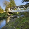 Stock Photo: Hannah Covered Bridge Oregon 2
