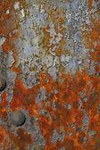 Rostige grunge textur der stahlbrücke — Stockfoto