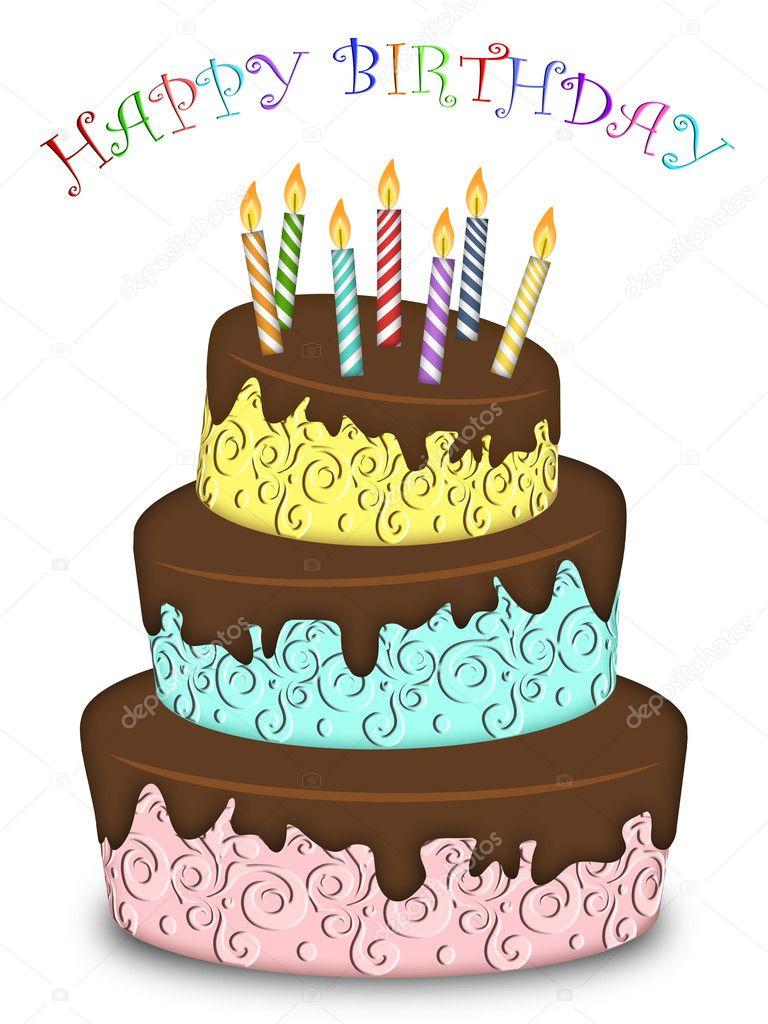 Торт картинки с днём рождения для детей