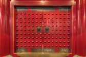Buddha Tooth Relic Chinese Temple Door — Stock Photo