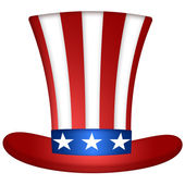 Uncle Sam Hat — Stock Photo