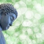 Бронзовая Будды Дзен медитации статуя — Стоковое фото