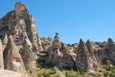 Rock town in Goreme (Cappadocia) — Stock Photo