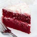 Red velvet cake — Stock Photo