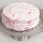 Red velvet cake — Stock Photo #4350094