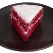 Red velvet cake - Stock Photo