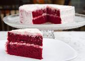 Torta di velluto rosso — Foto Stock