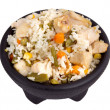 Chicken with rice — Stock Photo #4697141