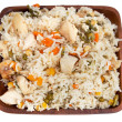 Chicken with rice — Stock Photo #4697148