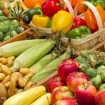 Harvest foods — Stock Photo