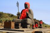 Big Buddha statue-Zao Mountain — Stock Photo