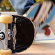 Stock Photo: Skateboard abstract