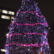 Festive decorated tree — Foto de Stock