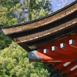 Japanese temple roof — Stock Photo