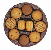 Fancy biscuits — Stock Photo