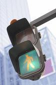 在一个城市的交通灯 — 图库照片