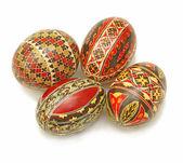 Easter paitned eggs — Stock Photo