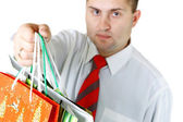 Life of the businessman — Stock Photo