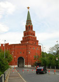 Borovitskaya Tower of Moscow Kremlin. — Stock Photo