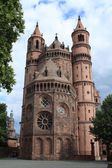 Worms Cathedral — Stock Photo