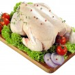 Fresh raw chicken — Stock Photo