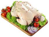 Färsk rå kyckling — Stockfoto