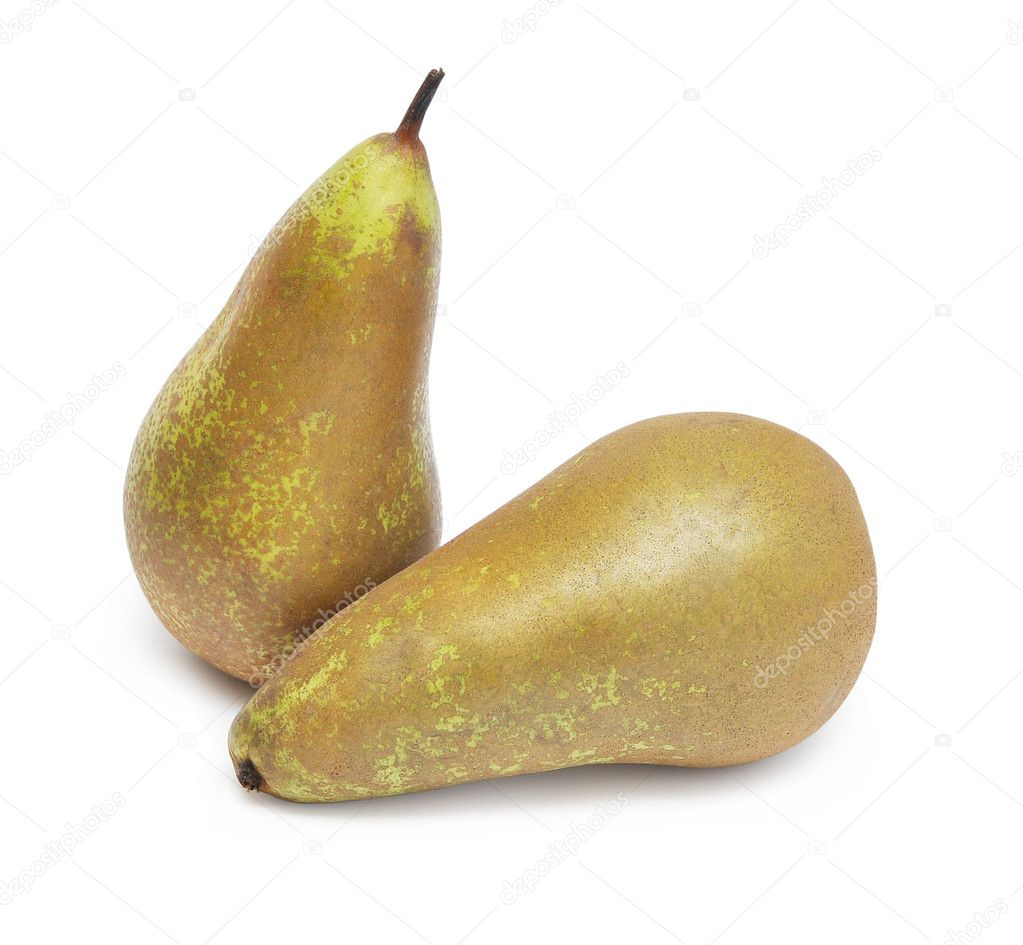 Pear isolated on white background — Stock Photo #4989936
