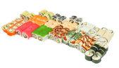 大きな寿司セット — ストック写真