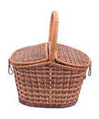 Basket on a white background — Stock Photo